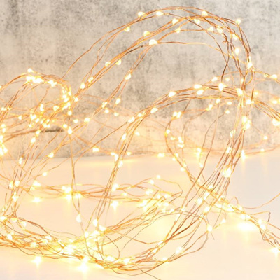 Copper/Silver Wire Seed Fairy Lights