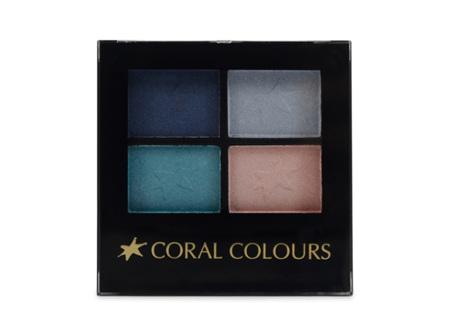 Coral Colours E/shadow Quartet Blue Moon