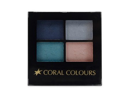 Coral Colours Eyeshadow Quartet Blue Moon