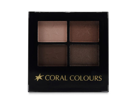 Coral Colours Eyeshadow Quartet Mallee Spice