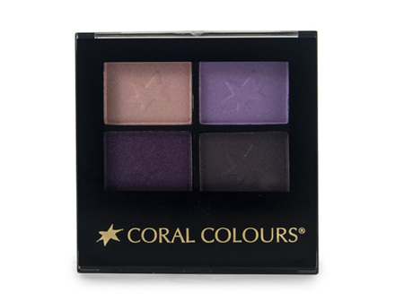 Coral Colours Eyeshadow Quartet Simply Natural