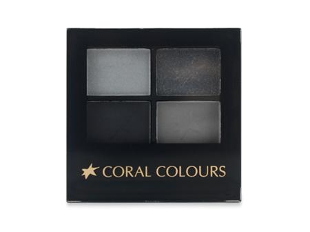 Coral Colours Eyeshadow Quartet Ultimate Smokey Eye