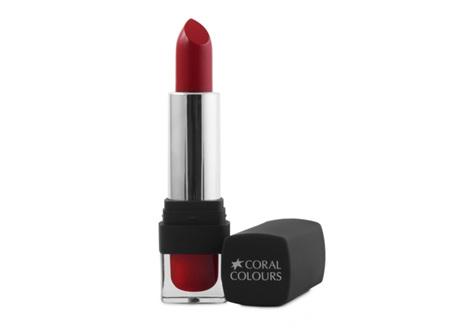 Coral Colours Matte Lipstick Scarlet