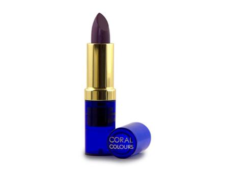 Coral Colours Moisturising Lipstick Choc Berry