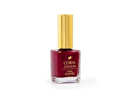 Coral Colours  Nail Enamel Range Berry me