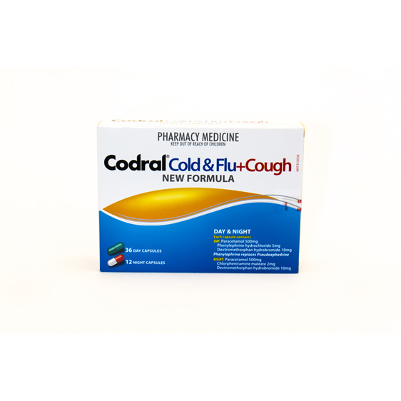 Coral Day & Night plus cough