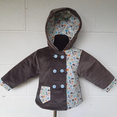 Cord Racoon Jacket Size 1