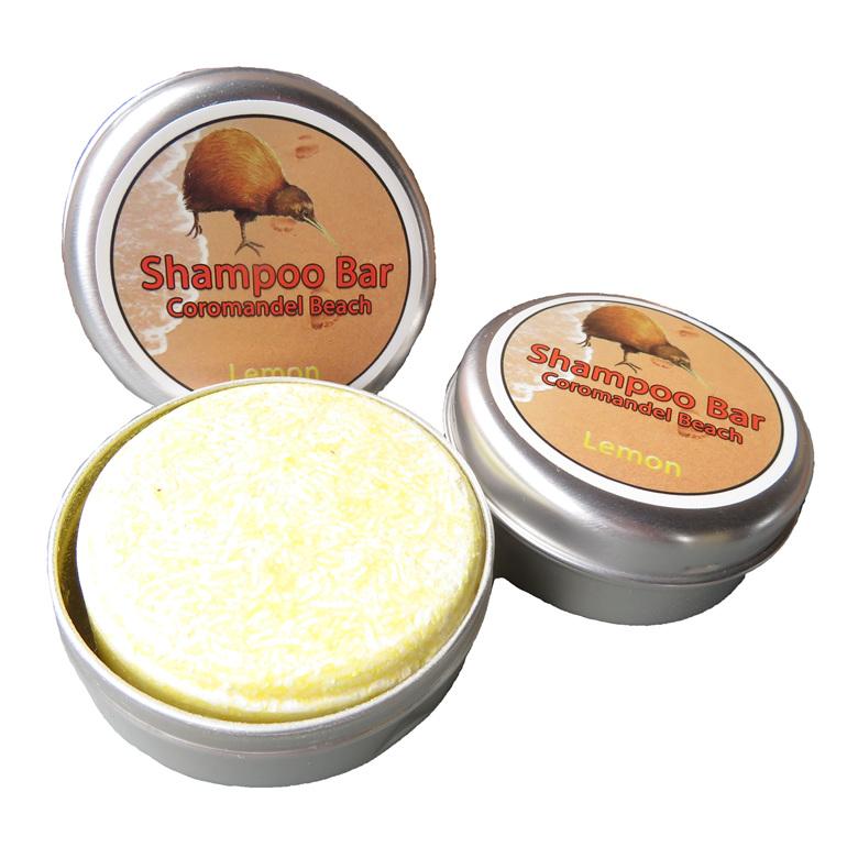 Coromandel Beach Lemon Shampoo Bar