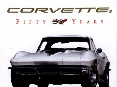 Corvette Fifty Years, The Official Anniversary Book by Randy Leffingwell
