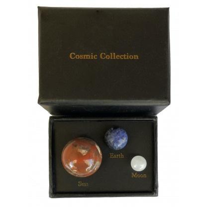 Cosmic Collection Earth Sun Moon
