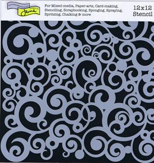 Cosmic Swirl 12 x 12