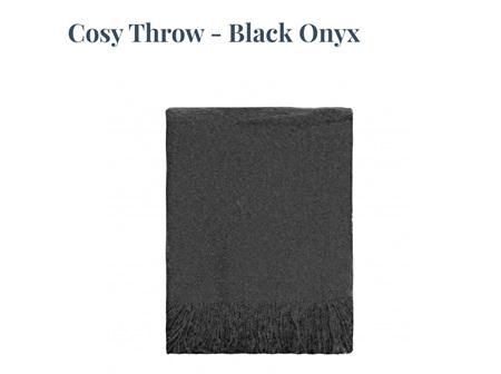 Cosy Throw - Black