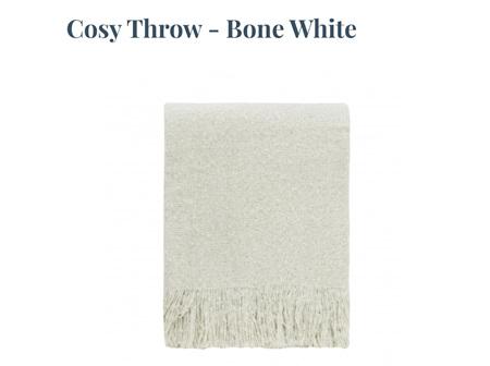 Cosy Throw - Bone