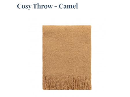 Cosy Throw - Caramel