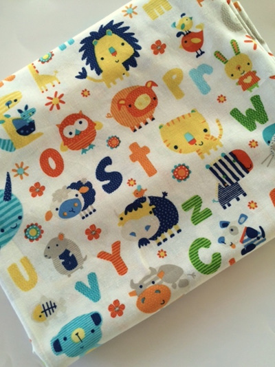 Cot Duvet - Animal Fun