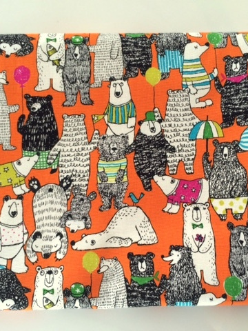 Cot Duvet - Bear's Life
