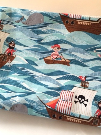 Cot Duvet Cover - Adventures in the High Seas