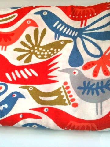 Cot Duvet Cover - Birds