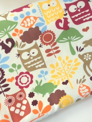 Cot Duvet - Woodland Animals