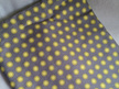 Cot Duvet - Yellow Floral and Spot