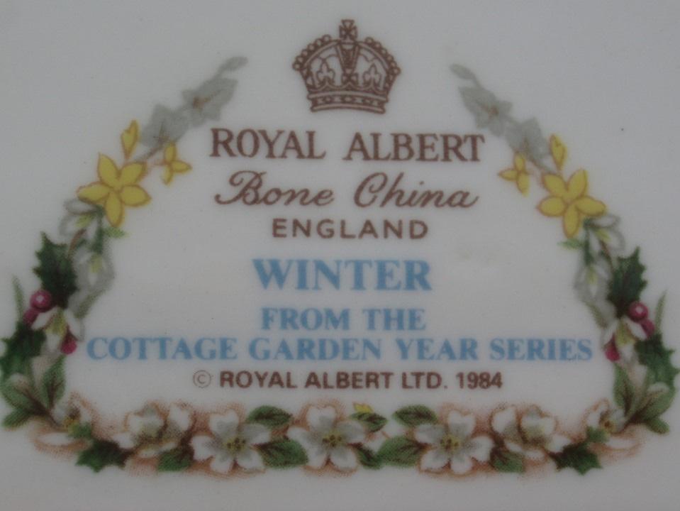 Cottage Garden Year Series Royal Albert Vintage Treasure