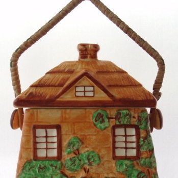 Cottage ware biscuit barrel