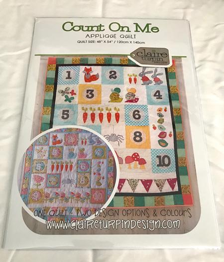Count on Me Applique Quilt Pattern