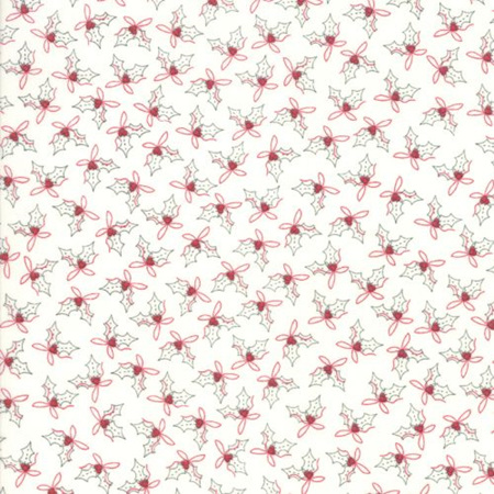 Country Christmas Holly Winter White 2966-11