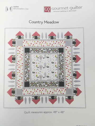 Country Meadow by Gourmet Quilter
