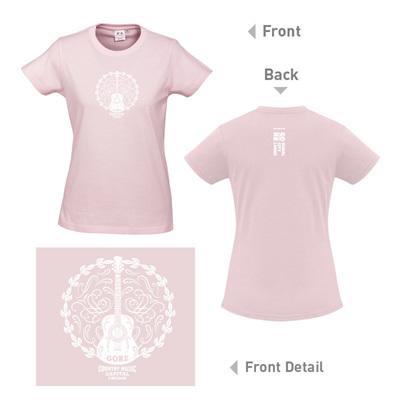 Country Music Female T-Shirt