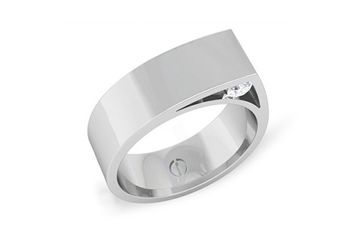 Coverd Men's Inspired Palladium Ring