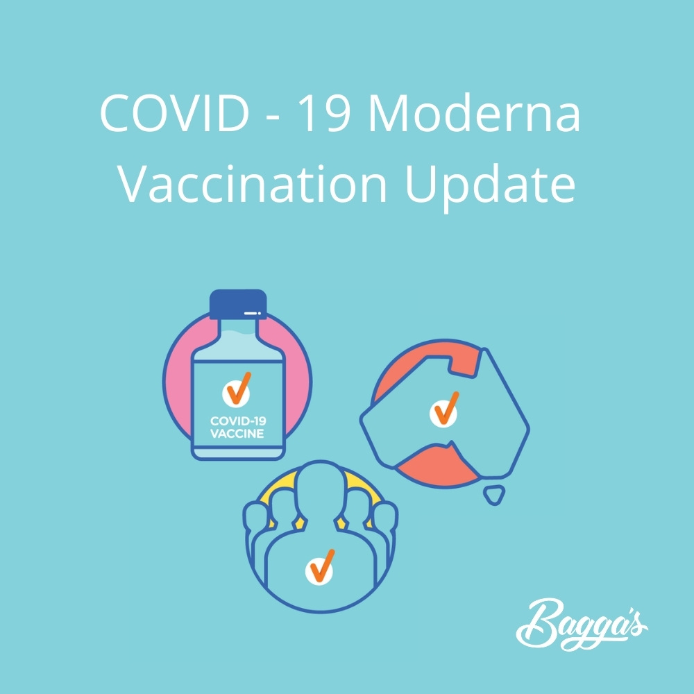 Moderna Vaccination Update