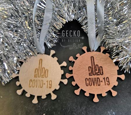 Covid Christmas Decoration