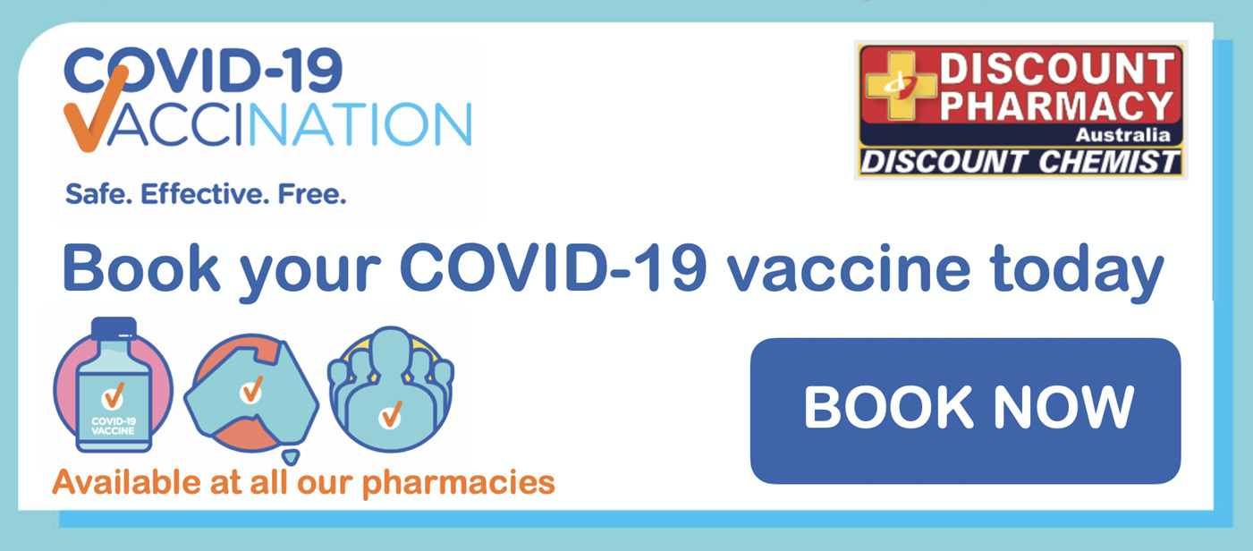 COVID-19 VACCINATION available. Book now