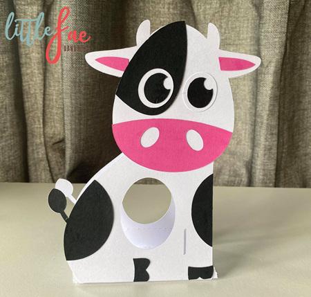 Cow Easter Egg Holder