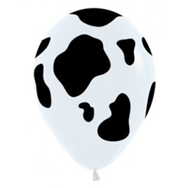 Cow Hide Balloons