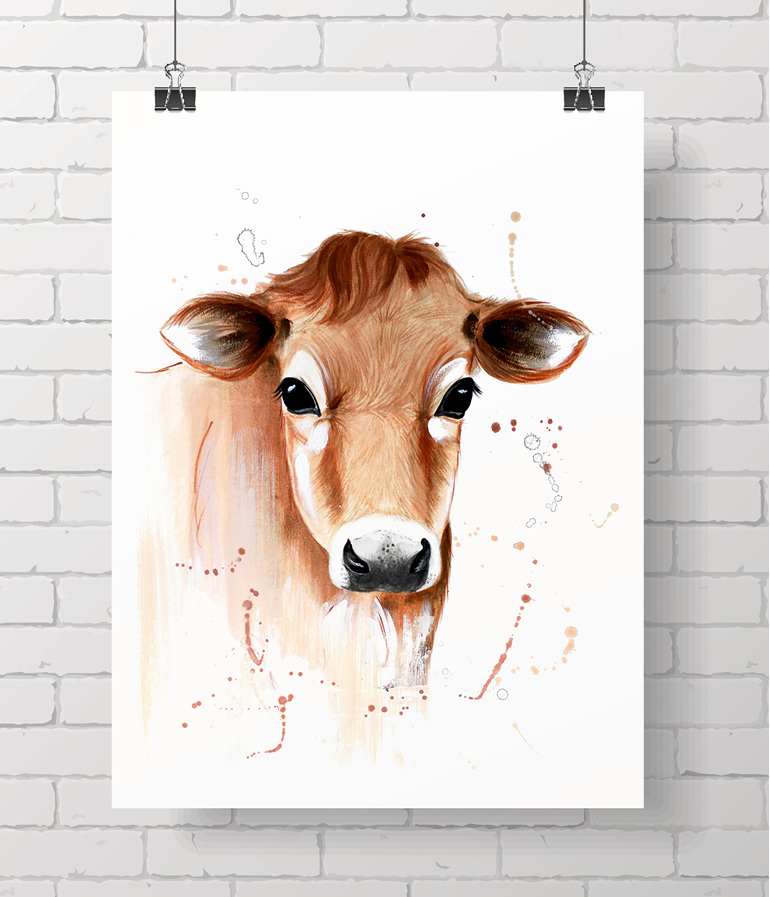 cow -  jersey