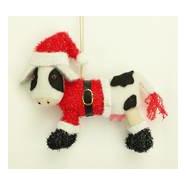 Cow tree decoration
