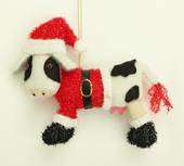 Cow tree decoration