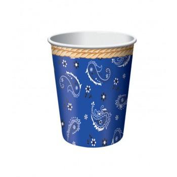 Cowboy cups pack 8