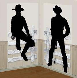 Cowboy scene setter