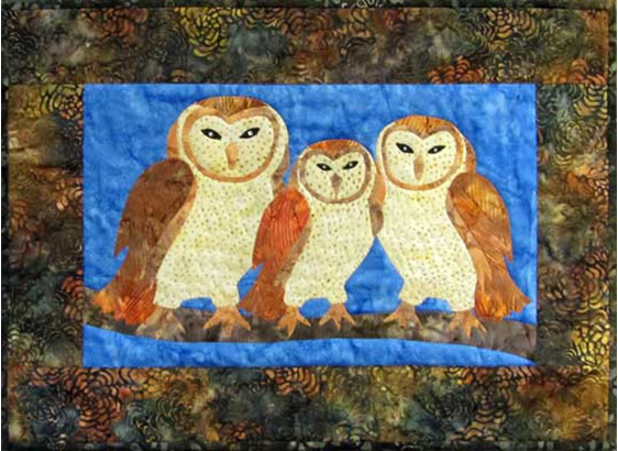 CP04548   Barn Owl Family