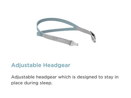 CPAP 400BRE120 Brevida Headgear