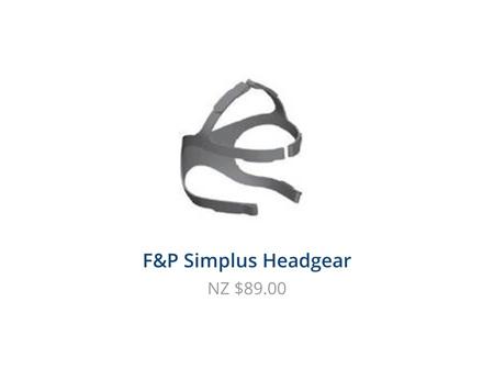 CPAP 400HC583 Simplus Headgear Med/Large