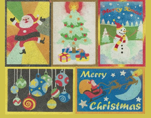 CPS03 - Set of 5 Mixed postcards