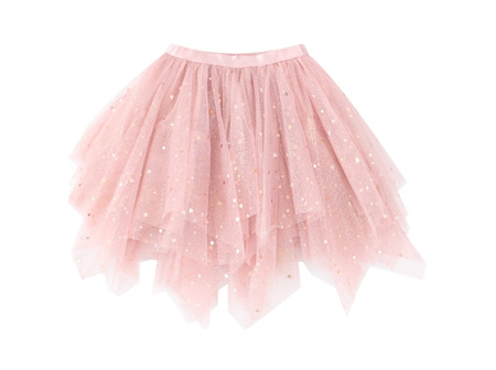 CRACKED Soda Layered Skirt Pink 3-8 years