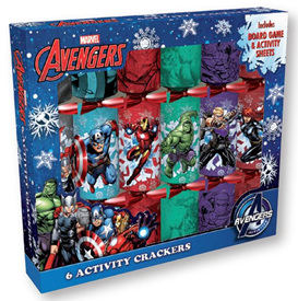 Crackers - Avengers 6 pack