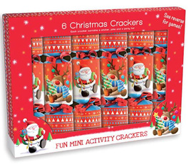 Crackers - mini christmas crackers 6 pack