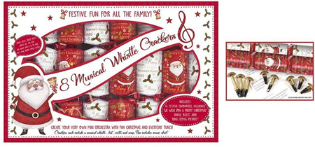 Crackers musical x 8