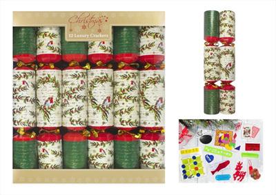 Crackers- Robin & Wreath